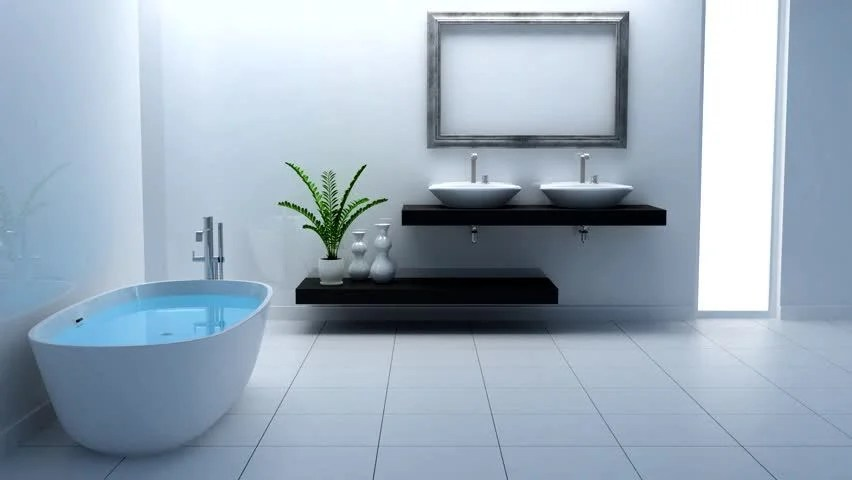 Nice White Bathroom Stock Footage Video (100% Royalty-free) 758239 | Shutterstock