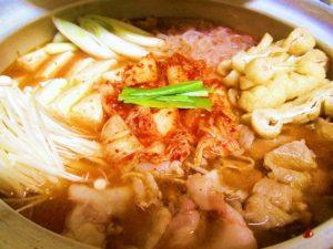 キムチ鍋(イメージ)