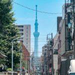 梅雨が明け本格的な真夏日の『東京スカイツリー』
