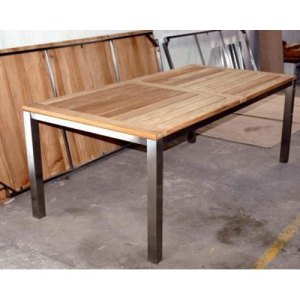 106 JRSR-Fino Table 160 with Teak