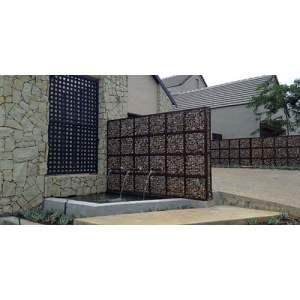 31 JRSTN-031 Natural Gravel Stone Bronjong for Wall