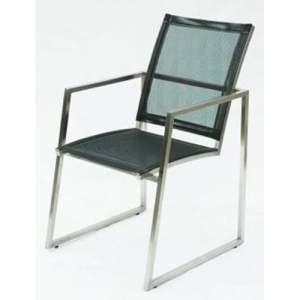 63 JRSR-Simple Armchair w Stainless Batyline