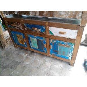 69 JRBW-06 Cabinet 3 Dwrs 3 Doors