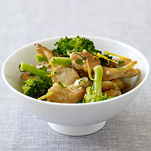 Lemon Chicken with Broccoli