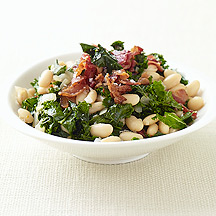 Image of Kale with Bacon and Cannellini Beans