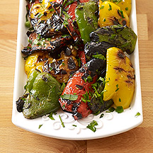 Italian Grilled Peppers