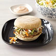 Image of Bahn Mi-Style Turkey Burgers