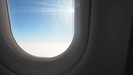 Flying to our next destination