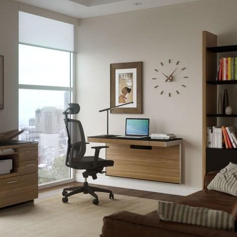 Escritorios trabajar casa Sequel pared