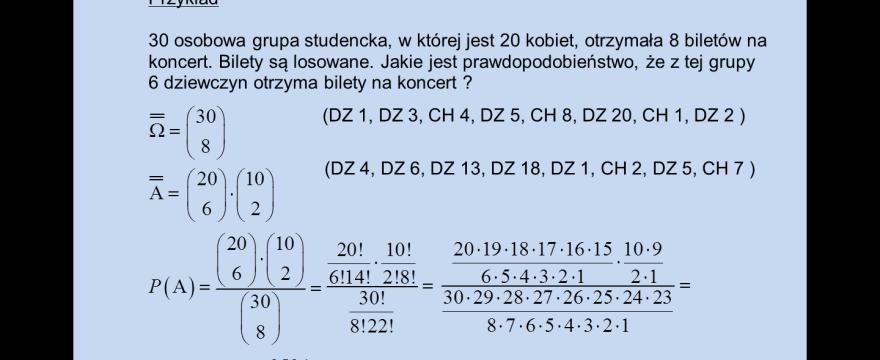 """Lekcja 2 – """"Klasyczna"""" definicja prawdopodobieństwa"""