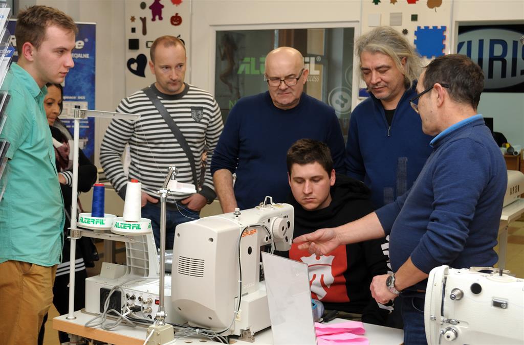 szkolenie dla mechaników maszyn szwalniczych