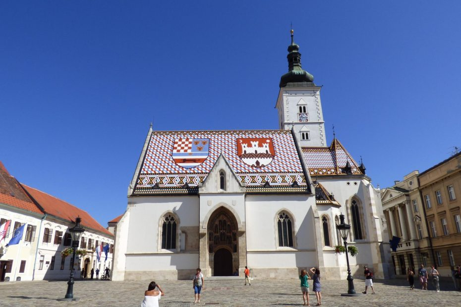 st marks, church, zagreb