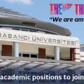 Sabancı Üniversitesi Akademik Personel İlanları