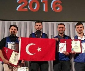 Karabük Üniversitesi uluslararası yarışmada robot birincisi oldu
