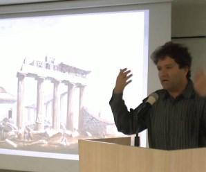 Boğaziçi Üniversitesi öğretim üyesi Prof. Dr. Edhem Eldem College de France Kürsüsü'nde