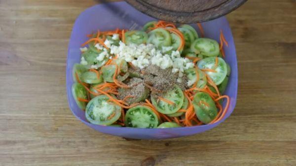 Как приготовить салат по-корейски из овощей в домашних ...