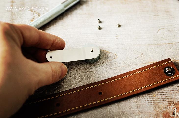 anvil rivet metal blank