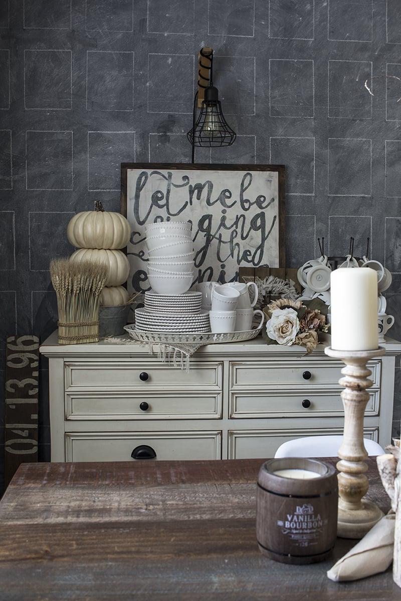 AKA Design Rustic Fall Dining Room 6