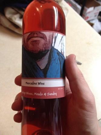 Akahige Muscadine Wine!