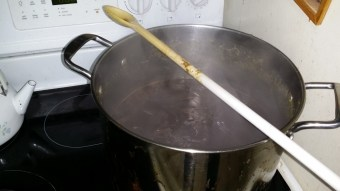 Gingered Ale on to boil