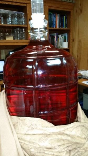 Plum sans Oak, Ready For Pre-Bottling