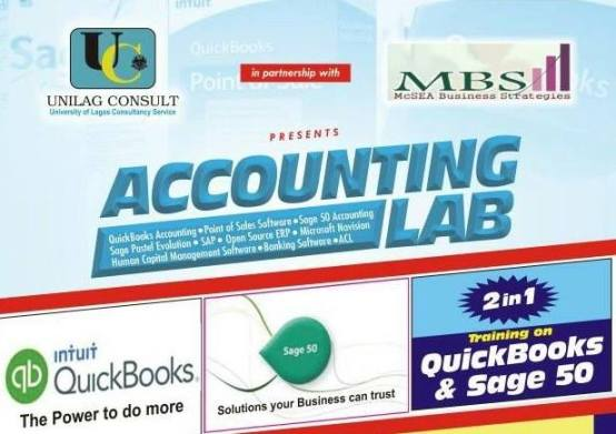 Attend QuickBooks And Sage 50 Training At UNILAG Consult By MBS