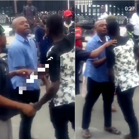 Man fights Lagos bus conductor over N50 change1