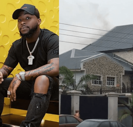 Davido's Father's House Gutted By Fire