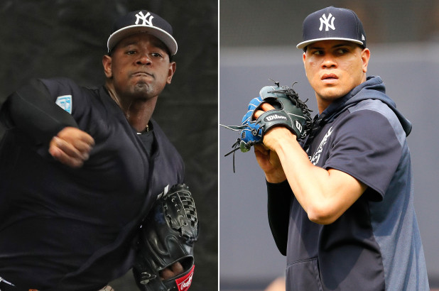 Luis Severino and Dellin Betances finally cleared to throw again