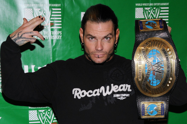 WWE superstar Jeff Hardy arrested for public intoxication