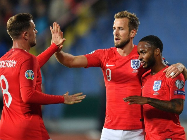 Jordan Henderson is named England's player of the year for 2019 ahead of Raheem Sterling and Harry Kane