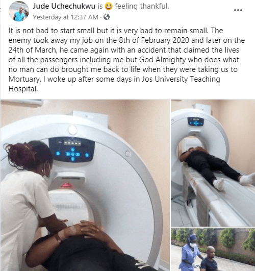 Nigerian man recounts how God woke him up while being taken to the mortuary lindaikejisblog 1