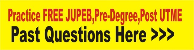 Post UTME PreDegree Admission 2021 UTME