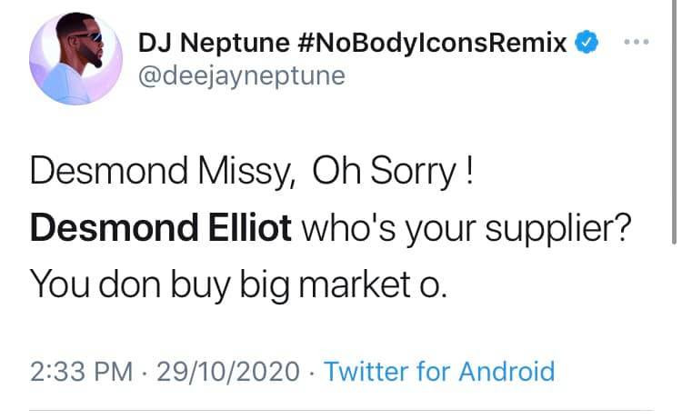 You are cancelled - Nigerian celebrities call out Desmond Elliot over his comment about celebrities and influencers lindaikejisblog 6
