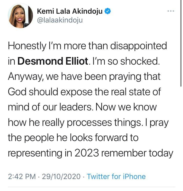 You are cancelled - Nigerian celebrities call out Desmond Elliot over his comment about celebrities and influencers lindaikejisblog 7
