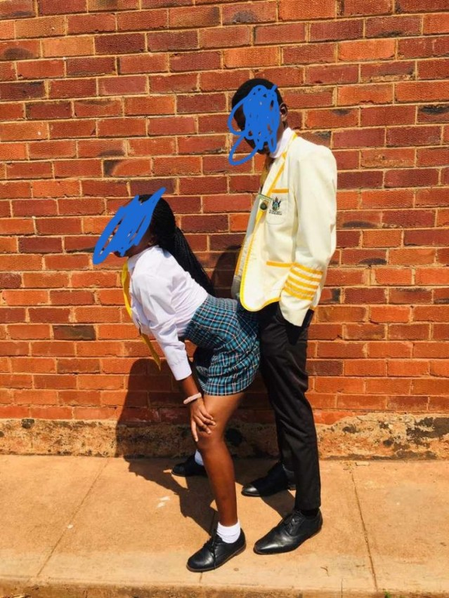 Zimbabwean kids posing for s3xually suggestive photos in school while teachers are on strike sparks concern lindaikejisblog 3