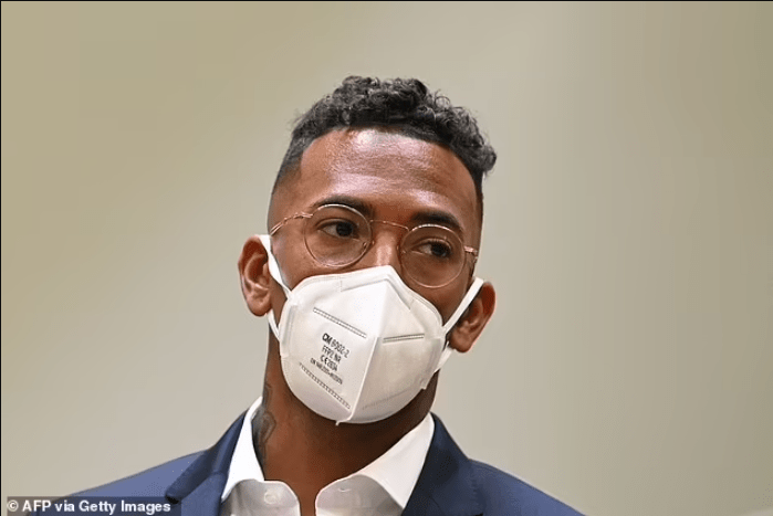 Footballer Jerome Boateng appears in court over accusation
