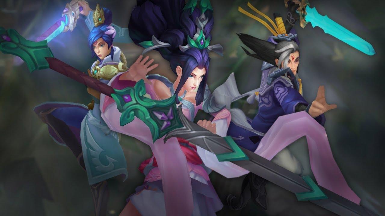 【LOL】フィオラ、ジャンナ、マスターイーの新スキンのスキントレーラーが公開!The Quest for the Sacred Sword | Immortal Journey 2017 Skins Trailer – League of Legends