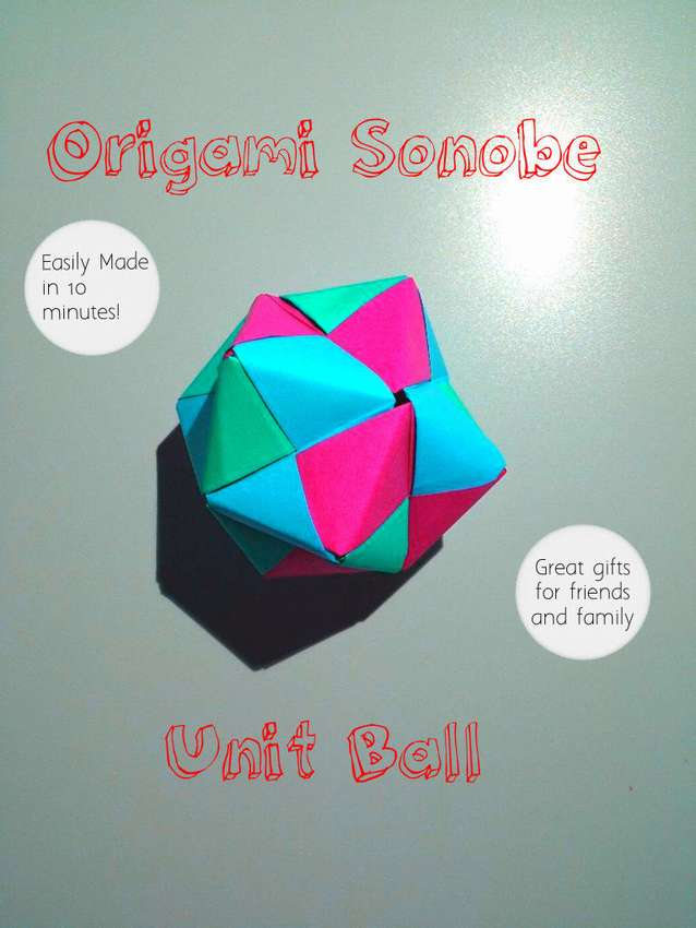 как сделать шар оригами
