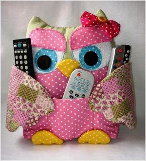 Pattern of owls details
