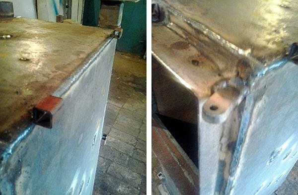 Cómo hacer grapas para cubrir un generador de calor de madera.