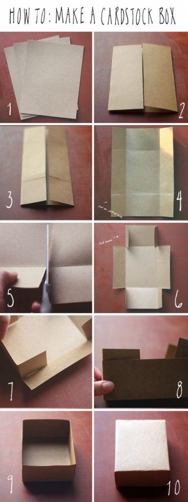 กล่องกระดาษงานฝีมือ