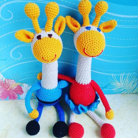 Toys Rainbow Giraghes
