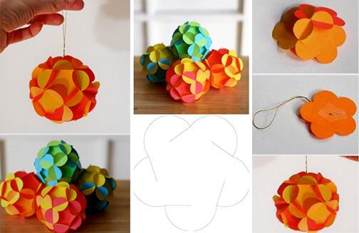 یک کاسه کاغذ زیبا را بسازید