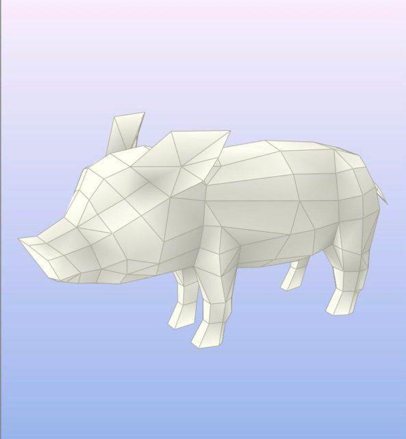 Porco pencraft.