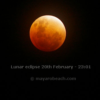 Full Lunar eclipse - 20th February 2008