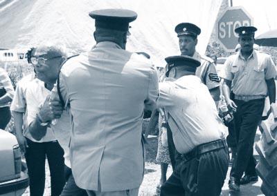 environmentalist protest trinidad