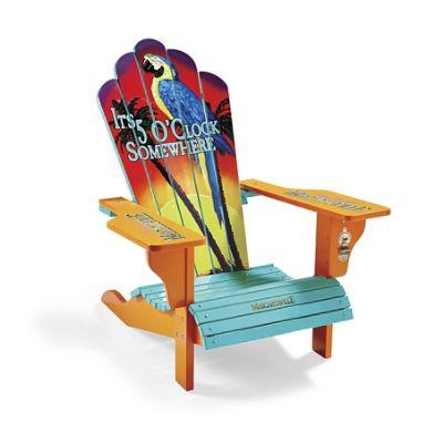 margaritaville 5 o clock somewhere adirondack chair