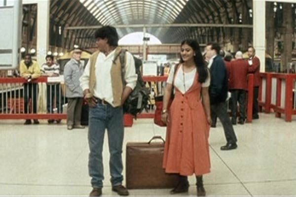 Image result for kajol ddlj train