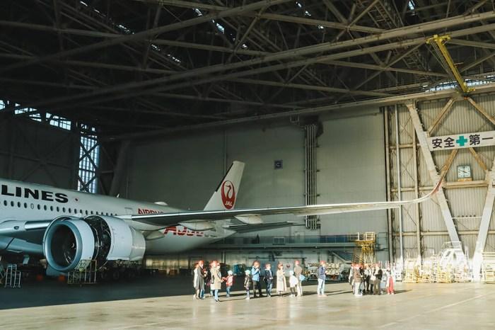 JAL日本航空工廠見學